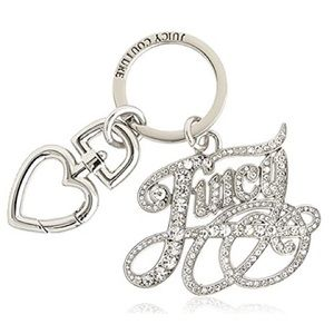 Juicy Couture Script Keychain